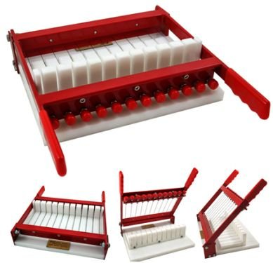 RED Soap Cutter - Perfectly Cuts 11 x 1 Inch Bars by Essential Depot (Image #9)