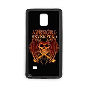 Avenged Sevenfold, AX7 Cover Protector PC For Galaxy Note4 (Laser Technology), Samsung Galaxy Note 4 Case