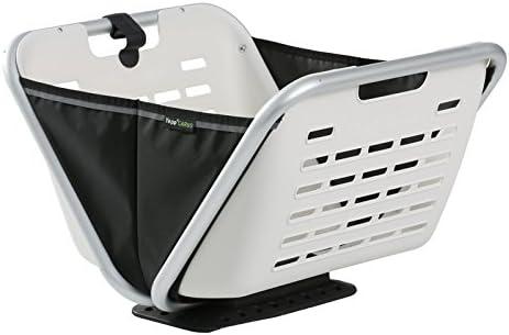 Yepp(イエップ) CARGO boxx(カーゴ ボックス) 折り畳み式フロントキャリアバスケット 白い 40102 ホワイト