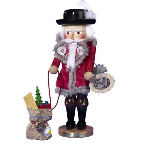 Steinbach Kurt Adler 17-Inch Limited Edition Swiss Santa Wind-Up Musical Nutcracker - Santa Wind Up Musical Figurine