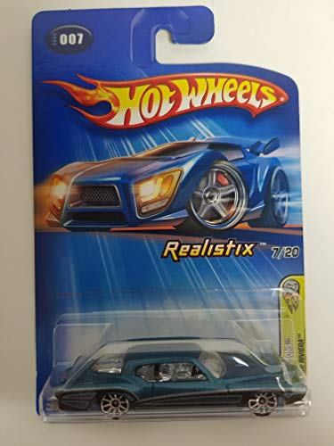 1971 Buick Riviera Teal Color 2005 First Editions Hot Wheels diecast car No. 007