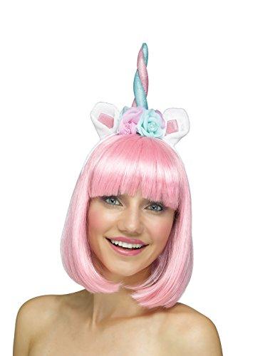 Fun World Women's Unicorn Horn Headband Accessory, Multi Standard -