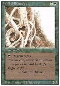 Magic: the Gathering - Wall of Brambles - Revised ()