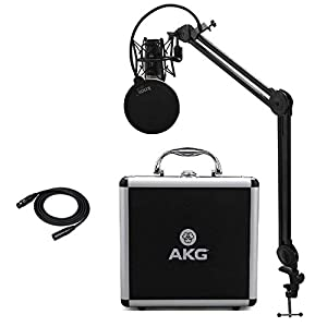 AKG P420 Condenser Microphone with Knox Studi...