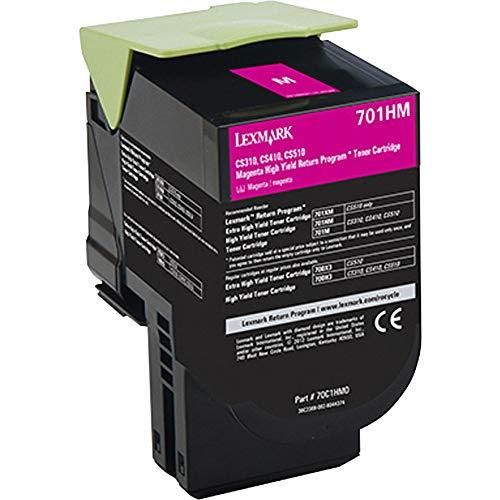 Lexmark 70C1HM0 Magenta High Yield Return Program Toner