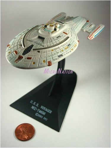 U.S.S. Voyager NCC-74656 Furuta Star Trek Federation Ships & Alien Ships Collection 2 Miniature Display Model