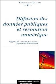 Diffusion des donnees publiques et revolution numerique par Commissariat général du plan France