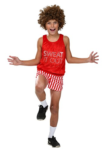 Little Richard Costume (Child Workout Video Star Costume - M)