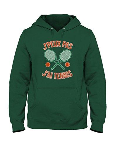 Joueurs Pour Peux Vert Tennis Capuche Homme Foret Pas De Humour Sweatshirt Je J'ai 6qYUpxwwO