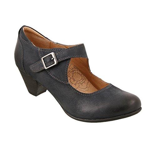 Taos Footwear womens Studio Navy Oiled 9 M