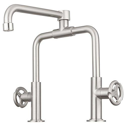 Pacific Bay Tenino Pot-Filler Kitchen Faucet (Brushed Satin Nickel)