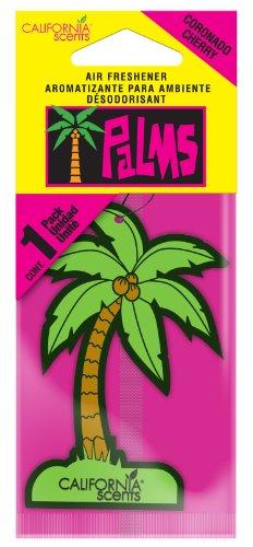 California Scents HO-1207 MC Coronado Cherry Palms Hang Outs® Car Air Freshener - Coronado Hanging
