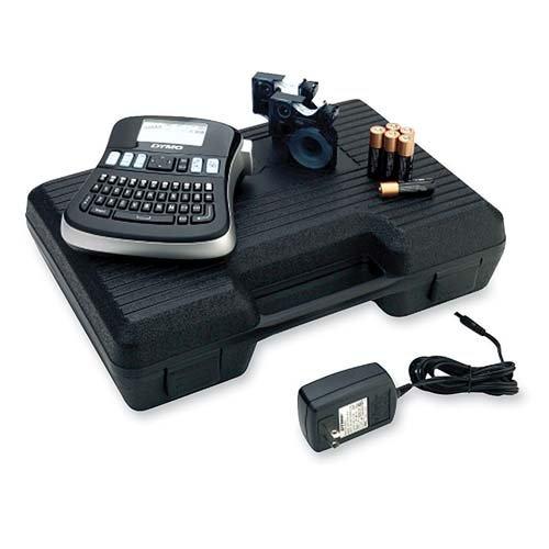 o Dymo Corporation o - Labelmaker Kit, 2 Print Lines, 6-1/10''x6-2/5''x2-1/2'', Black