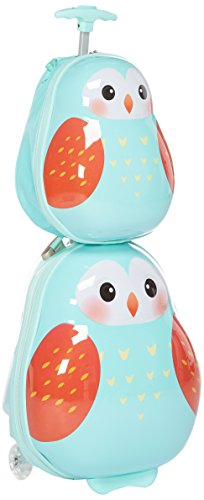Amazon Com Travel Buddies Luggage Set Lola Ladybug Baby