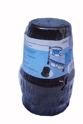Black Cylinder Bed Risers - 4-pack