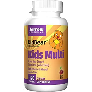 Jarrow Formulas Kids Multi, Multi-Vitamin & Mineral for Children's Health, 120 Tabs