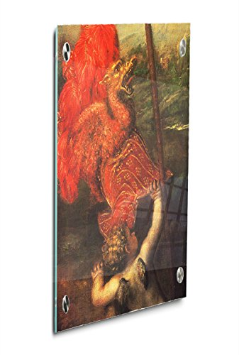 Francesco Stand - Giovanni Francesco Acquaviva (Titian) Acrylic Print Wall Decor Wall Art - Standoff, 12