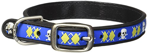 Dublin Dog Co All Style No Stink Arrrgyle Dog Collar, Mutiny, 11 by 14-Inch, Small