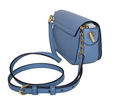 Women's Burch Bag Crossbody Blue Tory Leather Whipstitch Logo Wallis Mini Handbag P4xXwdqYw