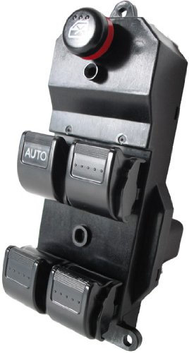 Honda CR-V 2002-2006 (Black Buttons) Window Master Control Switch