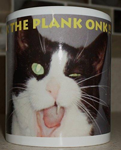 Scoot & Newts Present the Big B Walk the Plank Onk !! 11 Ounce Coffee Mug