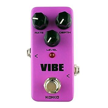 Kokko fuv2 Mini guitarra eléctrica analógica giratorio altavoz monobloque Pedal de Efectos Magenta: Amazon.es: Instrumentos musicales