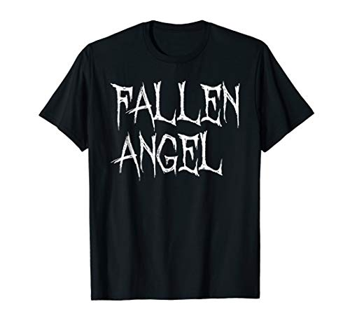 Fallen Angel Satanic Goth Punk Graphic T-Shirt Top ()