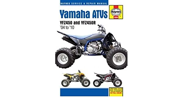 amazon com haynes manuals yam yfz450 r 04 10 2899 automotive rh amazon com 09 YFZ450R AC Nerfs 09 YFZ450R Grab Bar