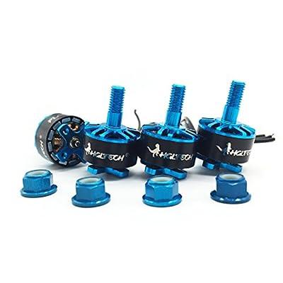 HGLRC Brushless Motor Blue 1407 3600KV Support 3S 4S Battery DIY for FPV Racing Drone Quadcopter Complete Motors ( 4PCS Blue Motors ): Toys & Games