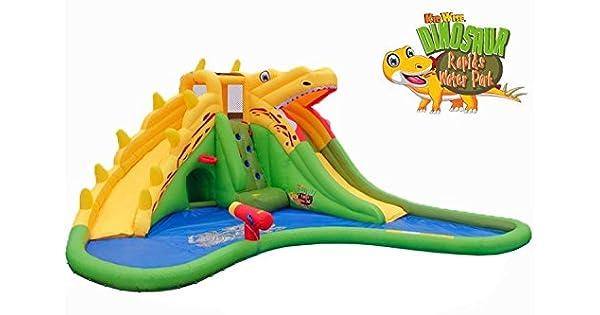Amazon.com: kidwise dinosaurio Rapids Back To Back Parque ...