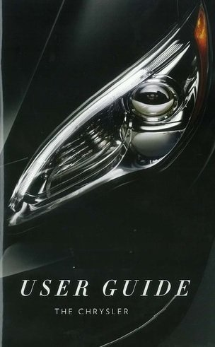 2012 chrysler 200 owners manual - 2