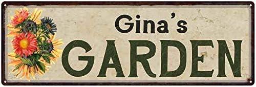 Am in the garden Wood Sign Decoration Sign Wooden Sign Garden Green-B Grade