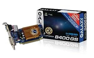 Amazon.com: Galaxy GeForce 8400 GS 512 MB GDDR2 PCI Express ...