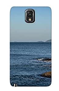 Fashionable WJWoTW-325-CANAL Galaxy Note 3 Case Cover For Barra De Lagoa Protective Case With Design