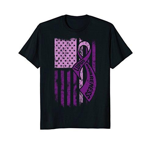 Lupus Awareness Shirt / Lupus Awareness FLAG