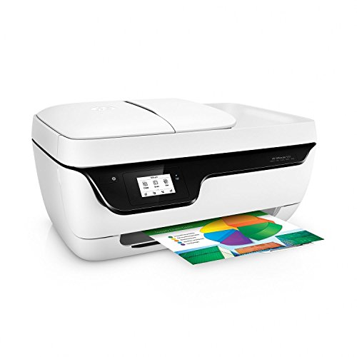HP OfficeJet 3831 Wireless Inkjet All-in-One Color Printer with Fax, Copier & Scanner