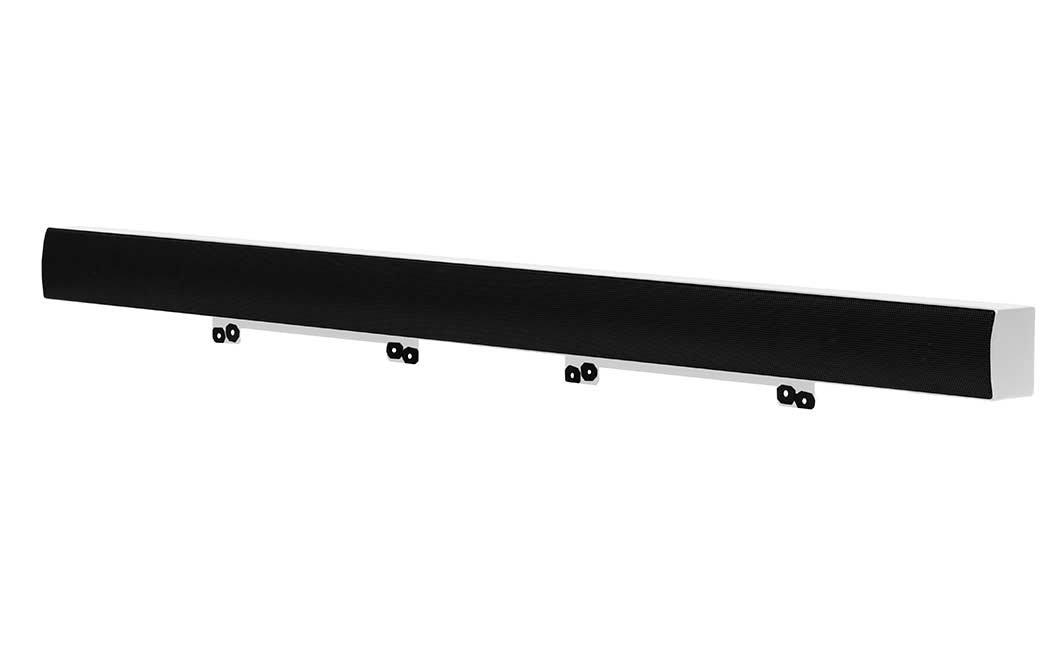 SunBriteTV Weatherproof Soundbar 20-Watt Audio Speaker for Signature or Pro Outdoor Television - SB-SP557-WH White - Not for Veranda