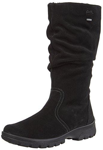 Boots Women's 61 SAAS Snow ara St Tex Schwarz Black Gore Fee gOWw0