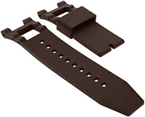 8c6c48db818 Silicone Rubber Watch Band Strap for Invicta SUBAQUA NOMA III 0927 Brown