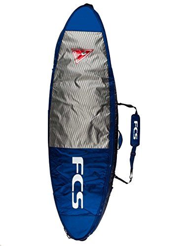 FCS Double / Triple Surfboard Bag Travel Cover (Deep Ink, All Purpose Double 6' 3