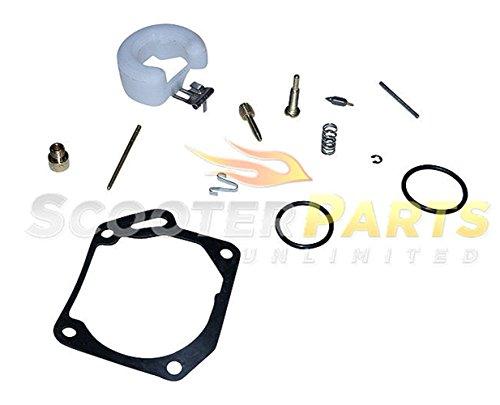 Vento Zip Triton Avala Gas Scooter Moped 49cc 50cc Carburetor Rebuild Repair Kit (49cc Racing Carburetor compare prices)
