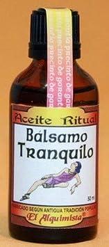 ACEITE BALSAMO TRANQUILO Formula Original Cuba.