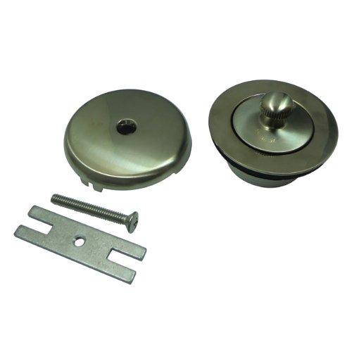 Kingston Brass DLT5301A8 Lift and Turn Tub Drain Kit, Satin ()