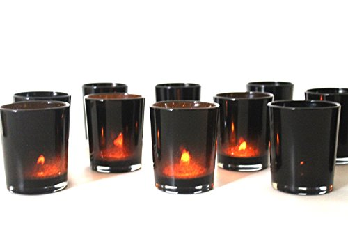 Wedding and Party Votives. Pack of 12 (black)