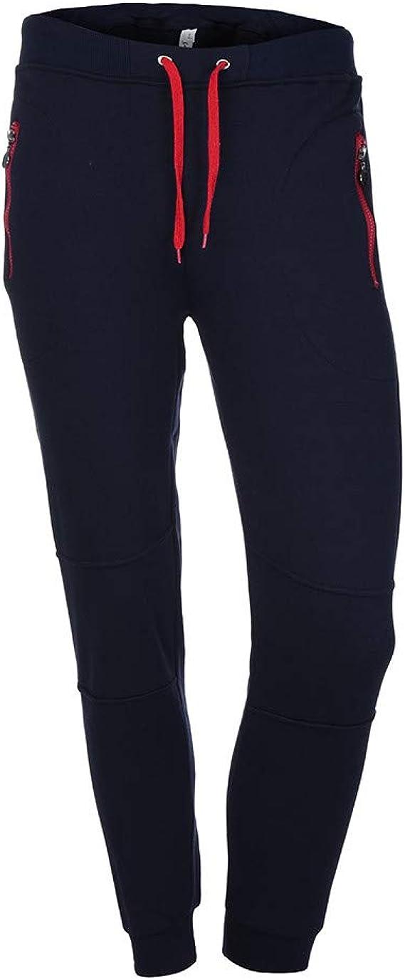 PARVAL Hombre Pantalones Deportivos Casuales Pantalones de ...