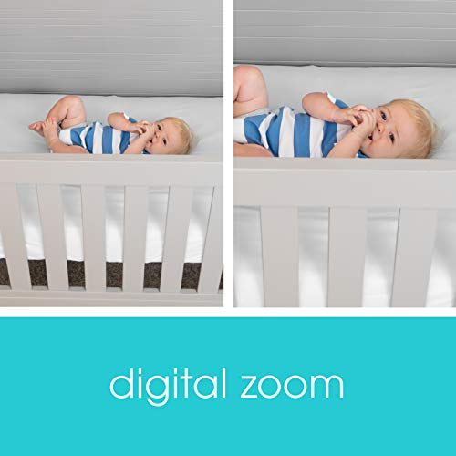 412Aiayl4tL - Summer Glimpse Plus Video Baby Monitor With 3.5-inch Color LCD Video Display – Baby Video Monitor With Remote Digital Zoom, Two-Way Talkback And Voice-Activated Screen Wake Up