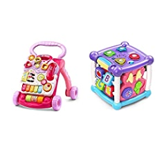 Amazon.com: VTech sit-to-stand caminador, Base, Anaranjado ...