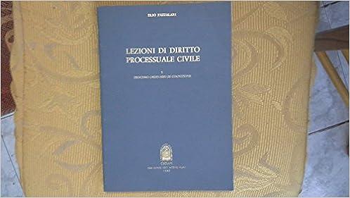 lezioni di diritto processuale civile