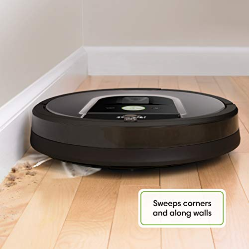 iRobot Roomba 960 Robot Vacuum- Wi-Fi Connected Mapping, Works with Alexa, Ideal for Pet Hair, Carpets, Hard Floors