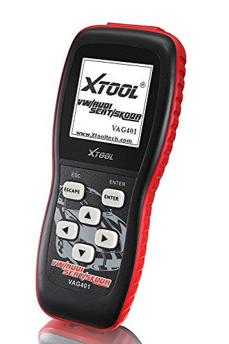 XTOOL VAG401 Live Data OBD2 Auto Scanner for VW, Audi, Seat and Skoda with Oil Reset, Airbag Reset and Actuation Test Function by XTOOL (Image #1)